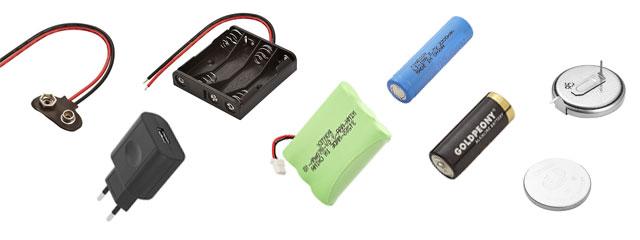 Baterias, Carregadores e Pilhas